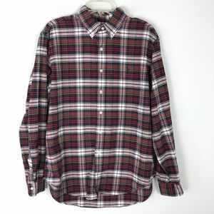 Ralph Lauren Classic Plaid Button Down Shirt #1508